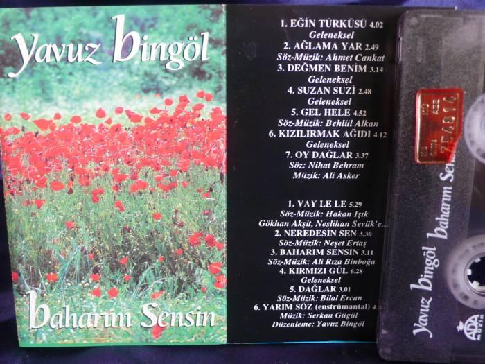 """Yavuz Bingöl: """"Baharım Sensin"""" albümü"""