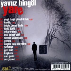"""Yavuz Bingöl: """" Yare """" albümü"""